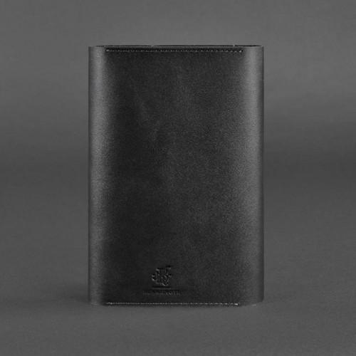 Кожаный блокнот софтбук 5.1 Графит Krast-4