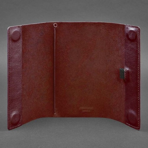 Кожаный блокнот софтбук 7.0 Виноград Krast-2
