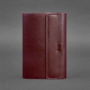 Кожаный блокнот софтбук 7.0 Виноград Krast-1