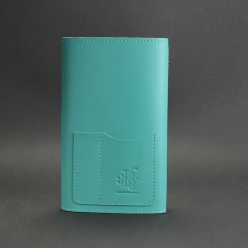Кожаный блокнот (софтбук) 2.0 Тиффани-2