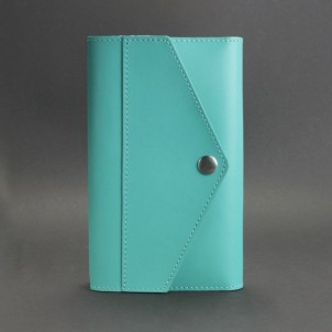 Кожаный блокнот (софтбук) 2.0 Тиффани-1