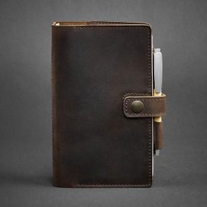 Кожаный софтбук 4.0 Орех-1