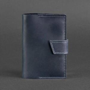 Кожаная обложка на паспорт 4.0 Ночное небо-1