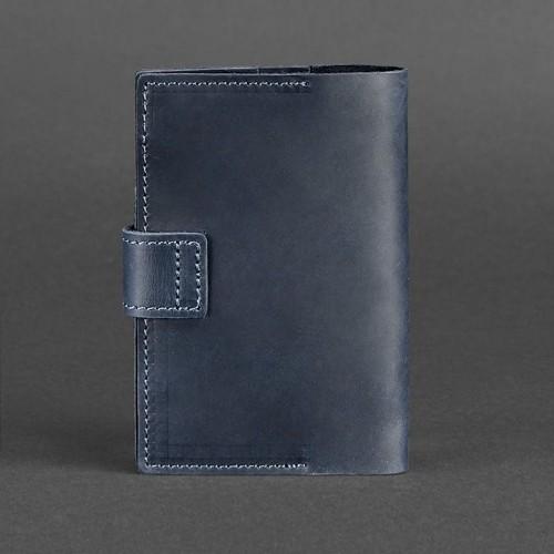 Кожаная обложка на паспорт 4.0 Ночное небо-2
