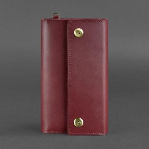Кожаный клатч и дорожный органайзер 5.0 Виноград Blanknote