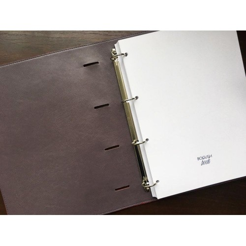 Блокнот-органайзер на кольцах BogushBook Бизнес Красный-7