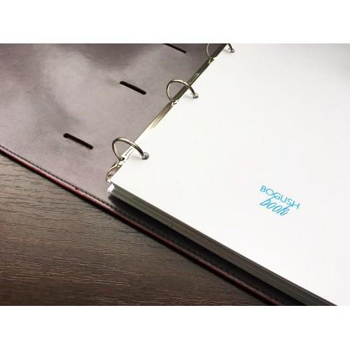 Блокнот-органайзер на кольцах BogushBook Бизнес Красный-5