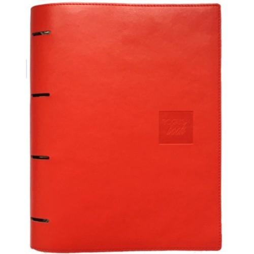 Блокнот-органайзер на кольцах BogushBook Бизнес Красный-1