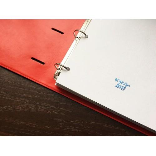 Блокнот-органайзер на кольцах BogushBook Бизнес Серый-2