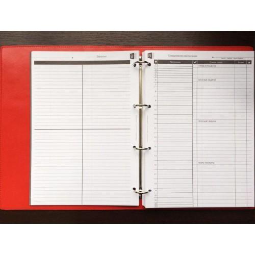 Блокнот-органайзер на кольцах BogushBook Бизнес Серый-3