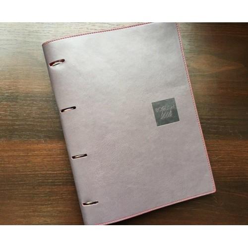 Блокнот-органайзер на кольцах BogushBook Бизнес Серый-7