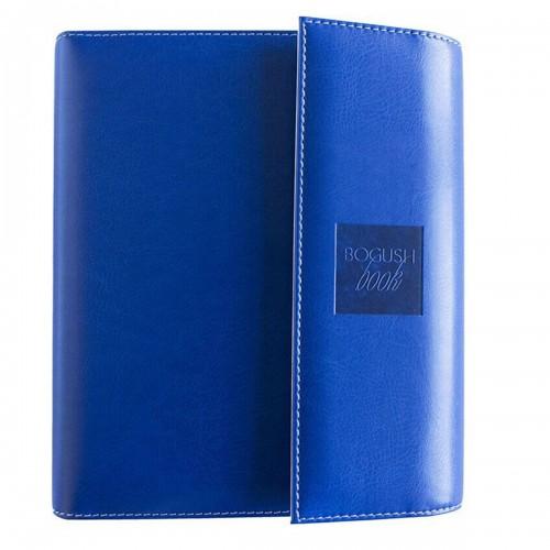 Блокнот-органайзер на кольцах BogushBook Демократ Синий с белым-1