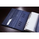 Имиджевый кожаный планировщик на кольцах BogushBook Комфорт Балтика-2