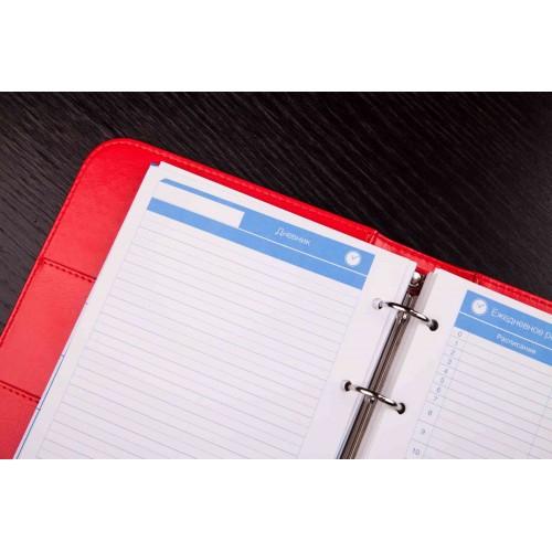 Блокнот-органайзер на кольцах BogushBook Лайт Красный-7