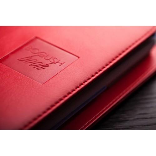 Блокнот-органайзер на кольцах BogushBook Лайт Красный-3