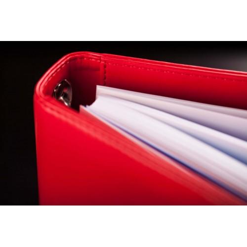Блокнот-органайзер на кольцах BogushBook Лайт Красный-2