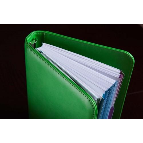 Блокнот-органайзер на кольцах BogushBook Лайт Зеленый-2