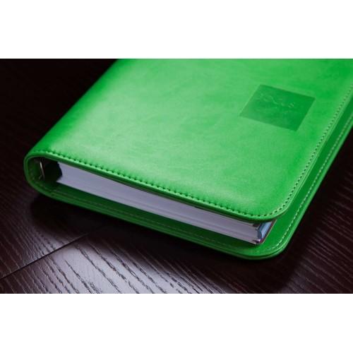 Блокнот-органайзер на кольцах BogushBook Лайт Зеленый-4