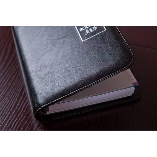 Блокнот-органайзер на кольцах BogushBook Лайт Черный-7