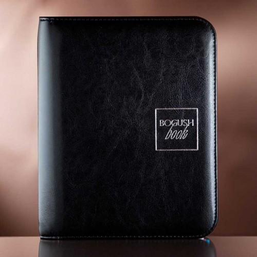 Имиджевый планировщик на кольцах BogushBook Лайт Черный