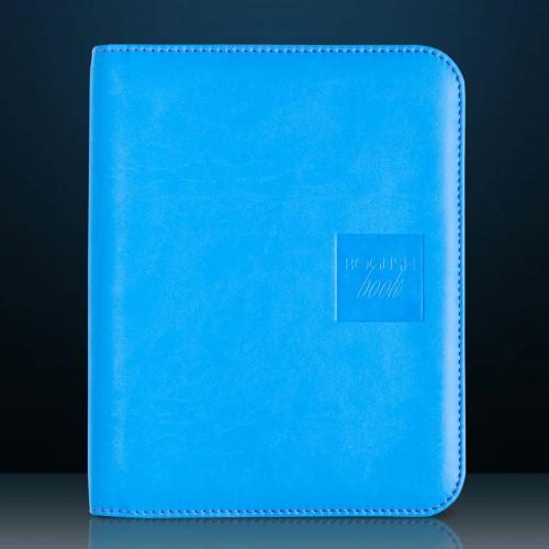 Блокнот-органайзер на кольцах BogushBook Лайт Голубо-розовый-1