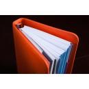 Имиджевый планировщик на кольцах BogushBook Лайт Оранжевый-2