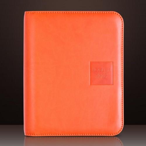 Блокнот-органайзер на кольцах BogushBook Лайт Оранжевый-1