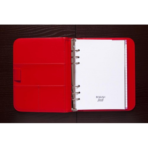 Блокнот-органайзер на кольцах BogushBook Лайт Стандарт-6