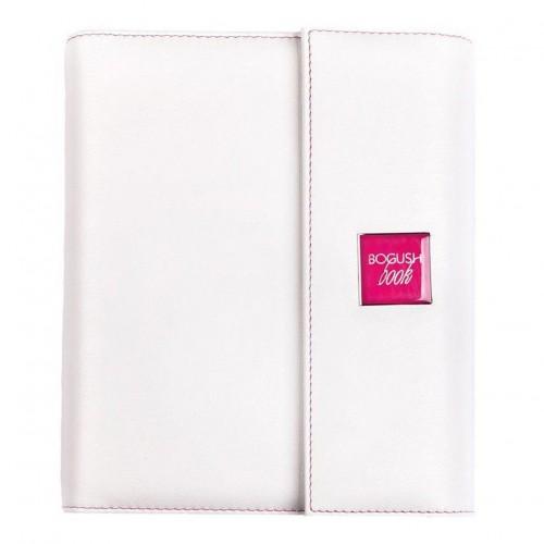 Кожаный блокнот-органайзер на кольцах BogushBook Престиж Диана-1