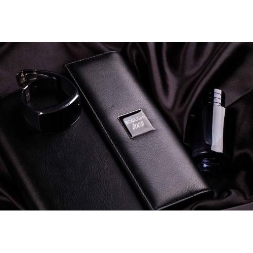 Кожаный блокнот-органайзер на кольцах BogushBook Престиж Монблан-3
