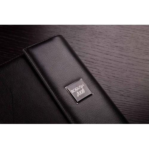 Кожаный блокнот-органайзер на кольцах BogushBook Престиж Монблан-2