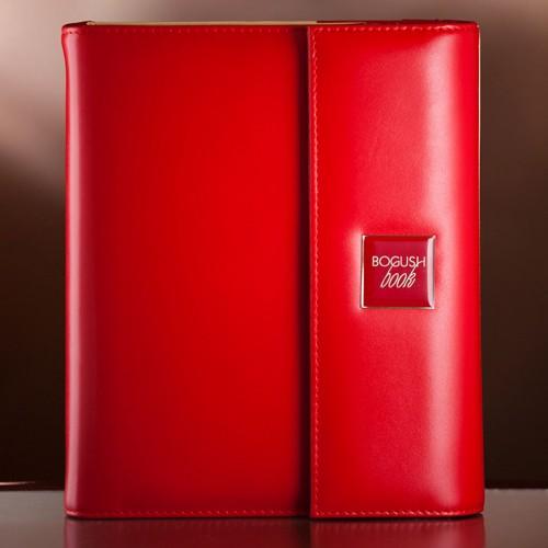 Кожаный блокнот-органайзер на кольцах BogushBook Престиж Моника-1