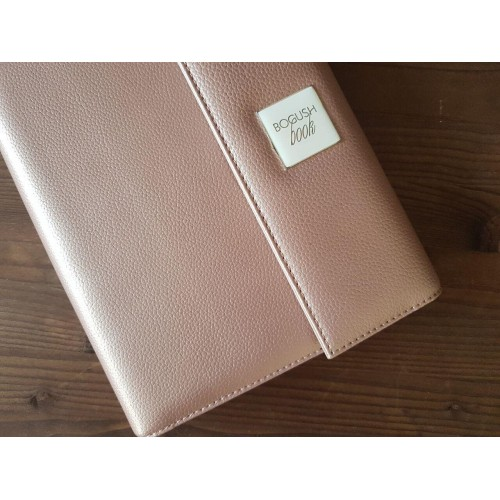 Кожаный блокнот-органайзер на кольцах BogushBook Престиж Шанель-6
