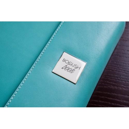 Кожаный блокнот-органайзер на кольцах BogushBook Престиж Тиффани-4