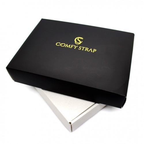 Кожаный блокнот формата B6 Comfy Strap Brown-6