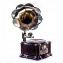 Эксклюзивный проигрыватель-граммофон в ретро стиле Paris-2