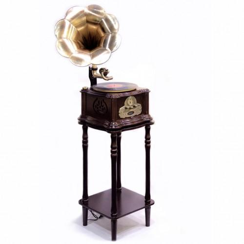Эксклюзивный проигрыватель-граммофон в ретро стиле Paris