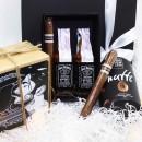 Подарочный набор для мужчины с виски и сигарами Free Man -3
