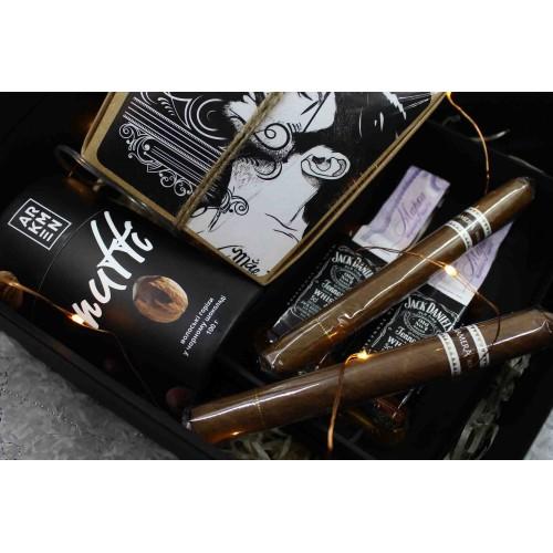 Подарочный набор для мужчин с алкоголем и сигарами ▶Free Man-4