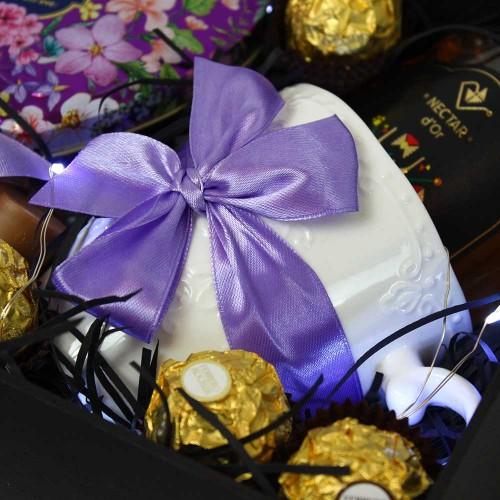 Подарунковий медово-чайний набір ►Lilac від Franklin-2
