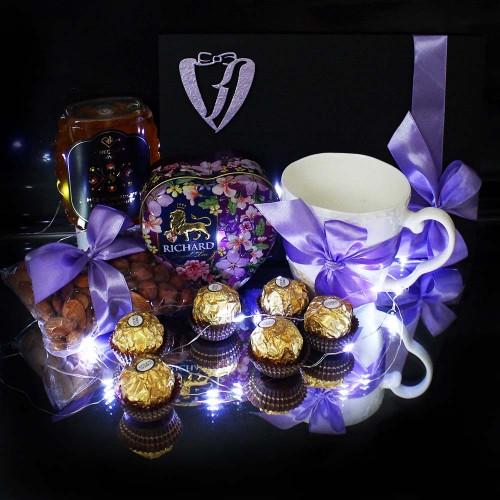 Чайно-медовий подарунковий набір ►Lilac