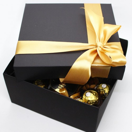 Діловий подарунковий набір для чоловіків з віскі, кавою та шоколадом Decent ►FRANKLIN-4