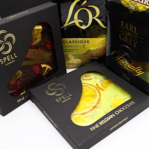 Подарочный набор для мужчин с коньяком, кофе и сладостями Anniversary ▶ FRANKLIN -6