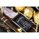 Подарочный набор мужчине с минибутылочкой легендарного виски и кубинской сигарой Happy Moment-3