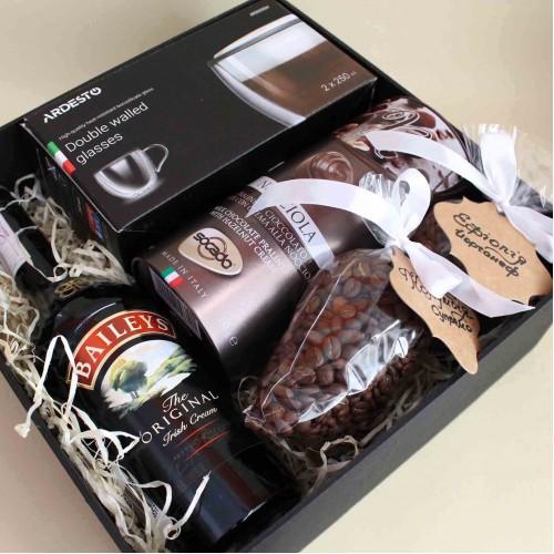 Кофейный подарочный набор ►Baileys с ликёром и стильными чашками от FRANKLIN-2