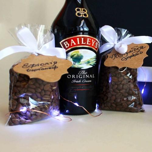Кофейный подарочный набор ►Baileys с ликёром и стильными чашками от FRANKLIN-3