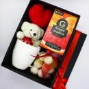Подарунковий набір дівчині з м'яким ведмедиком та чашкою Marmalade-2