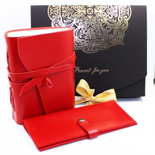 Женский набор кожаных аксессуаров Margarita Maxi ►Franklin-1