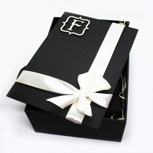 Діловий подарунковий набір для чоловіків з коньяком та шкіряними аксесуарами France ►FRANKLIN-2