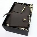 Набор кожаных аксессуаров для мужчин One Style Chocolate-7